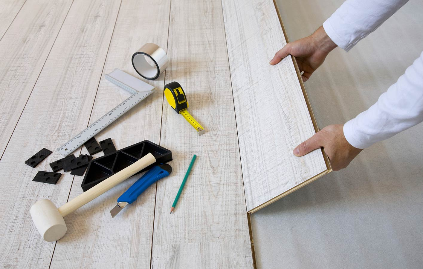 Montáž laminátovej podlahy cena