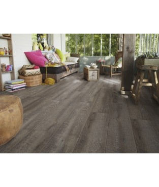 VINYL STARFLOOR click 30, Dub SMOKED Dark Grey, AC3/4mm